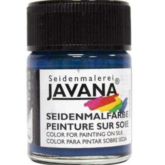 Краска по светлой ткани KREUL Javana растекающаяся 50мл Синяя лазурь KR-8125