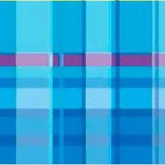 Картон двухсторонний URSUS 20*30 300г Vichy мотив Клетка, Голубой UR-13362203R