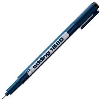 Ручка капиллярная Edding линер Drawliner Черный 0,25мм e-1880/0,1