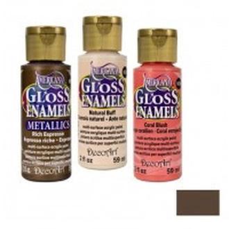 Краска акриловая для стекла и керамики DecoArt Americana 59мл проз. Коричневая DAGT11-30