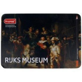 Карандаши цветные 50цв. Bruynzeel Dutch Masters Ночная стража в метал коробке 5700M50