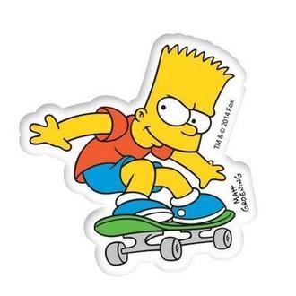 Ластик-резинка Cool For School Simpsons SI08410