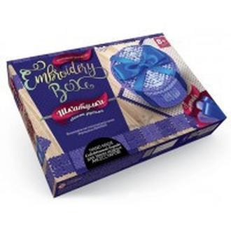Набор для творчества DankoToys DT EMB-01-02 Шкатулка-вышивка гладью Embroidery Box