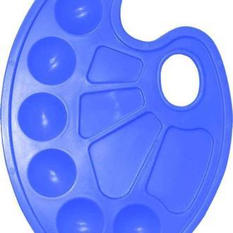 Палитра ZiBi овальная пластиковая 6920