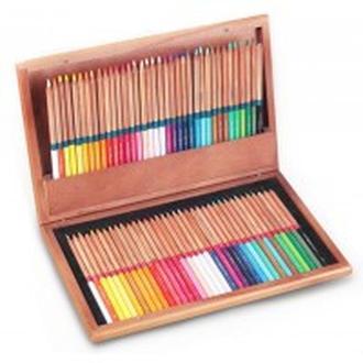 Карандаши цветные 72цв. MARCO FineArt в деревянном пенале 72WB