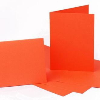 Набор заготовок для открыток 5шт 10,3*7см №13 оранжевый 220г/м Margo 94099062