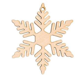 Заготовка для декорирования Rosa Talent (фанера) Снежинка 9 Д8см 4801519
