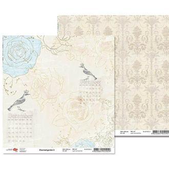 Бумага для скрапбукинга Rosa Talent 30.5*30.5см Charmed garden-3 двухсторонняя 180 г/м 481802-3