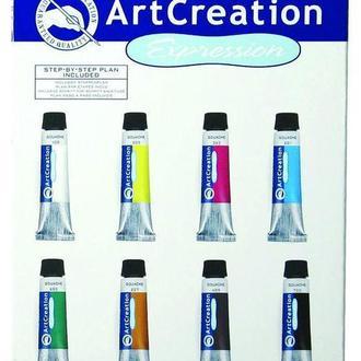 Гуашь художественная ArtCreation набор 8цв. по 12мл Royal Talens 9021608M