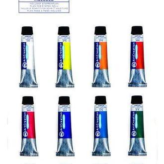 Краски акриловые ArtCreation набор 12цв. по 12мл Royal Talens 9021712M