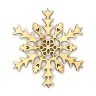 Заготовка для декорирования Rosa Talent (фанера) Снежинка 11 Д10см 4801592