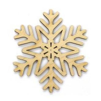 Заготовка для декорирования Rosa Talent (фанера) Снежинка 9 Д10см 48015890