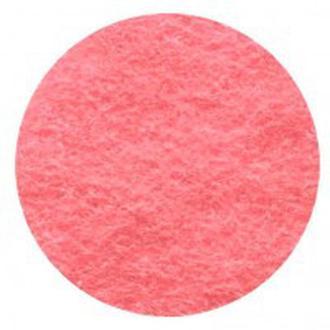 Фетр поделочный (полиэстер) 180г/м2 21*29,7см Rosa Talent Розовый пастельный A4-087