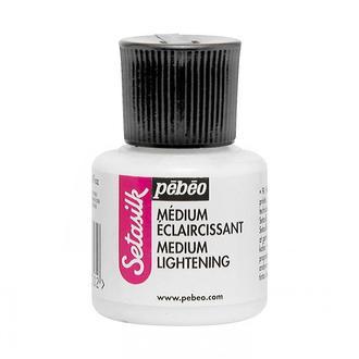Краска по светлой ткани Pebeo Setasilk растекающаяся 45мл Прозрачный P-181-030