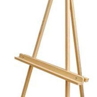 Мольберт тренога РОСА деревянный (сосна) (60*75*125см, макс размер полотна 120см) GPТ50045603