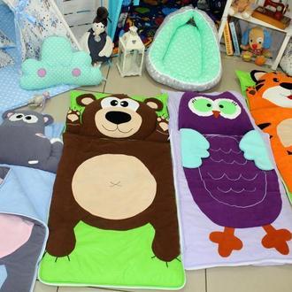 Слипик, постельное белье, спальник, мобильная постелька, одеяло