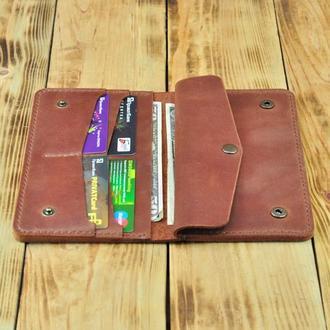 Женское портмоне для монет, купюр, телефона