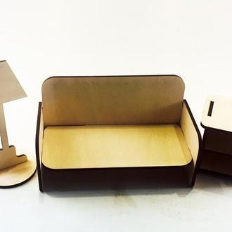 """Набор мебели для кукол """"Гостиная"""" 5101"""