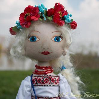 Віра, лялька ручної роботи