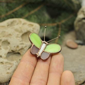 Брошь бабочка Подарок девушке