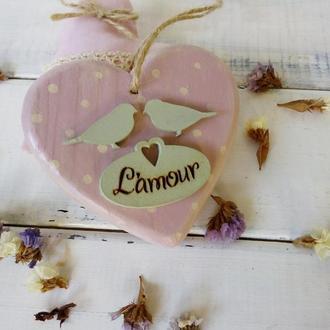 Сердечко декоративное Lamour
