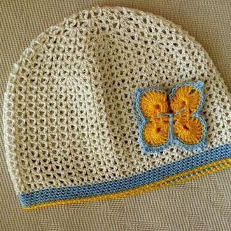 Летняя шапка Украиночка