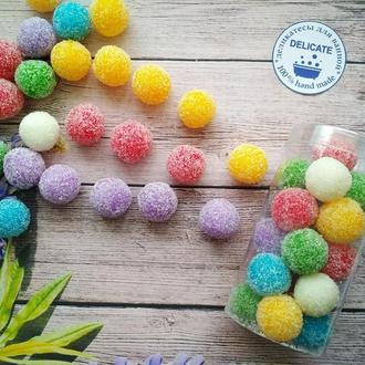 Натуральный сахарный скраб  для тела с эфирными маслами Микс