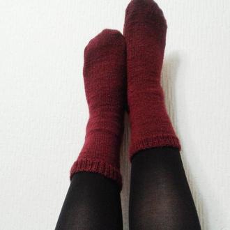 Носочки. Мериносовая шерсть.