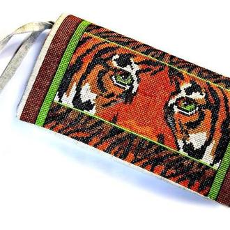 Клатч « Взгляд тигра »