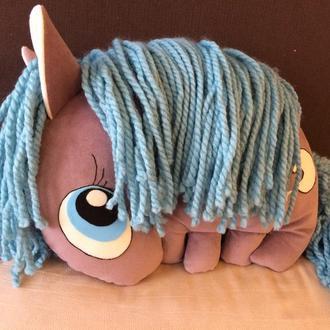 Авторская подушка игрушка Пони Принцесса Луна