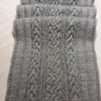 """Кашемировый шарф """"Гейнсборо""""  ( 100% кашемир) -Роскошный подарок ручной работы!"""