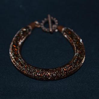Женский браслет с бисером