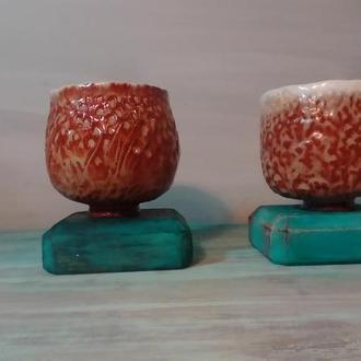 Чаши керамические