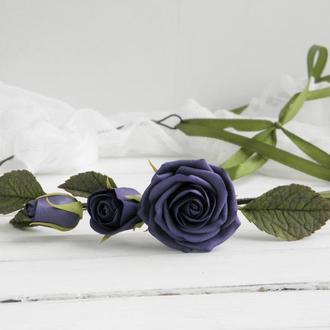 Венок Розы ультрафиолет