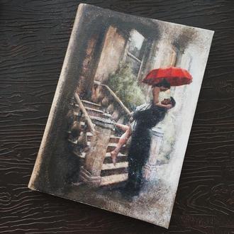 """Блокнот """"Под дождем"""""""