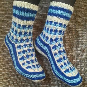 Шкарпетки вовняні жіночі носки носочки вязаные