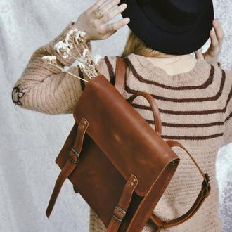 """Кожаный рюкзак """"Натан"""""""