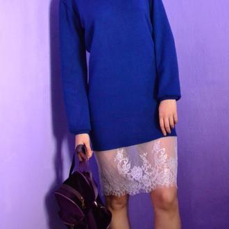Шикарное платье-свитшот