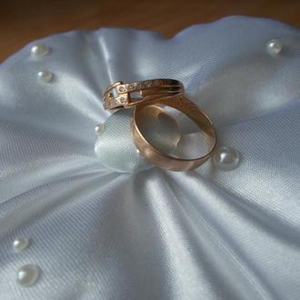 Подушечка для свадебных колец №3 (круглая)