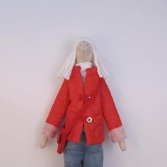 Кукла в стиле Тильда. Кристина