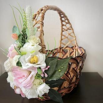 Декор для пасхального кошика (корзини) для дорослих і дітей