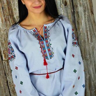 Женская рубашка-вышиванка UA-14