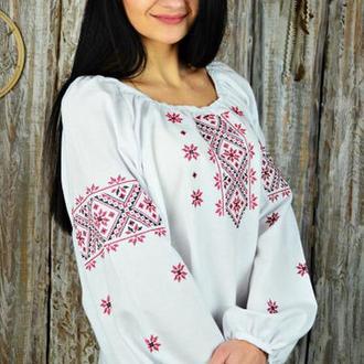 Женская рубашка-вышиванка UA-22