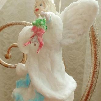 """Интерьерная игрушка  в облике Ангела по имени """"Несущая радость"""""""