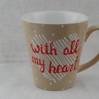 Чашка Сердце