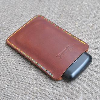 Чехол-карман из натуральной кожи H08-210+multicolored