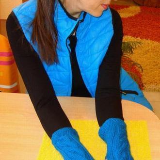 Митенки - перчатки без пальцев - комфорт на каждый день
