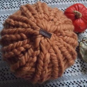 Подушка круглая из мериноса.