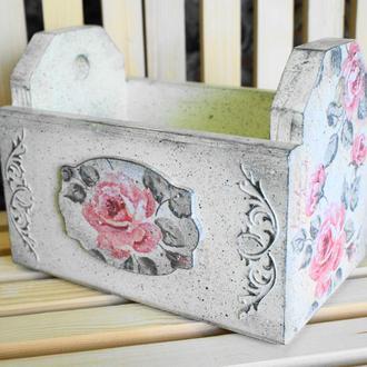 Ящик Розы Прованс для мелочей