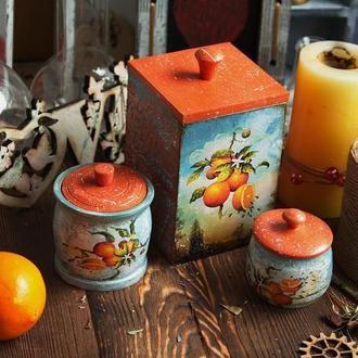 Кухонный набор Апельсинка.